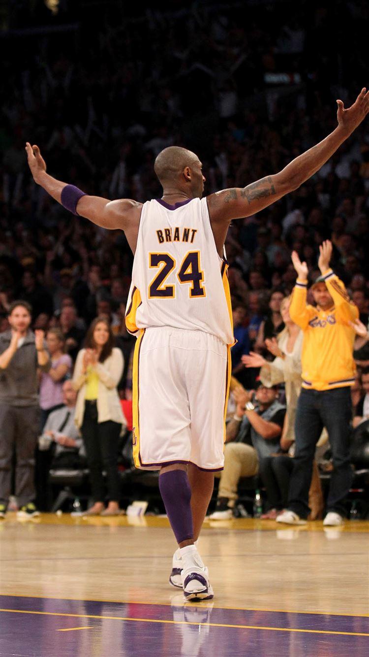 Bryant Kobe Nba Sports Super Star Arena Sucess Cheer Iphone 8 Wallpapers Free Download