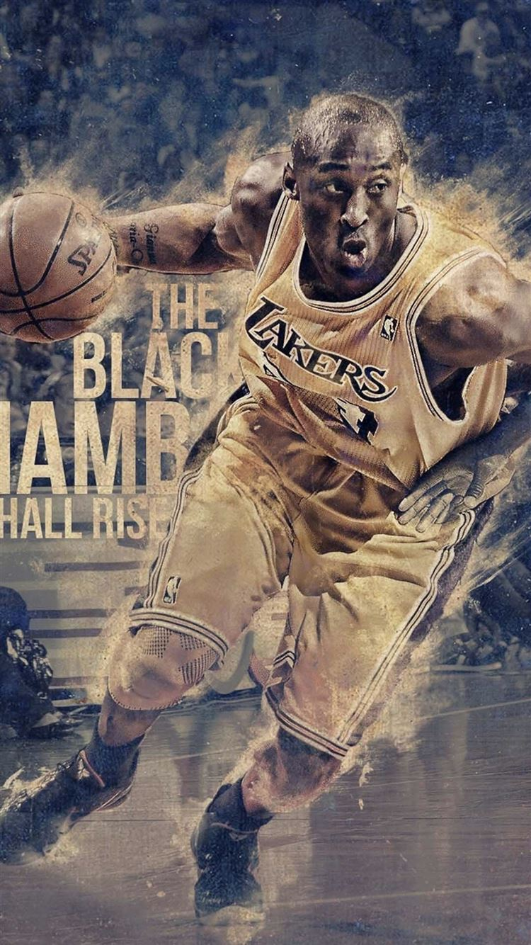 Bryant Kobe Nba Sports Super Star Iphone 8 Wallpapers Free Download