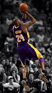 NBA Super Star Brant Kobe Show iPhone wallpaper
