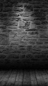 Wall Dark Bw Texture Pattern iPhone 6(s)~8(s) wallpaper