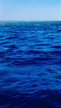 Sea Blue Ocean Nature Summer Swim iPhone 6(s)~8(s) wallpaper