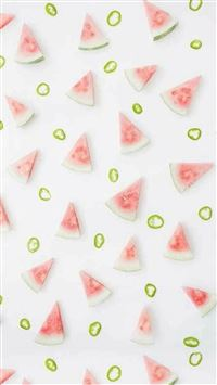 Lovely Pink  Fruit Pattern Texture iPhone 6 wallpaper