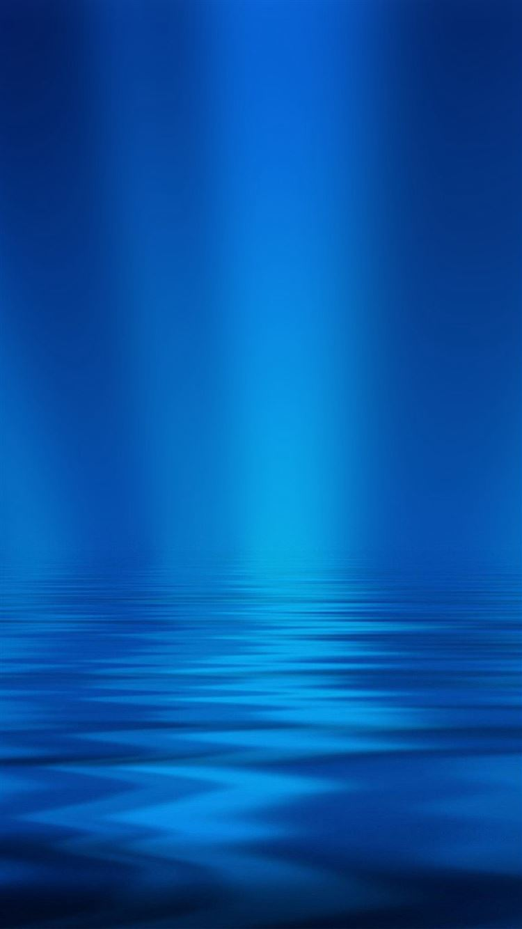 Sea Blue Ripple Pattern Iphone 8 Wallpapers Free Download