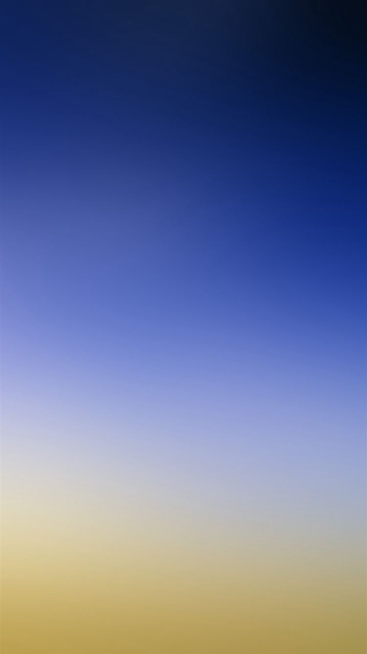 Sky Blue Yellow Gradation Blur Iphone 8 Wallpapers Free Download