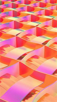 Art Paper Red Rainbow Color Pattern iPhone 6(s)~8(s) wallpaper