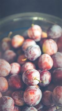 Berry Grape Food Flower Nature iPhone 6 wallpaper