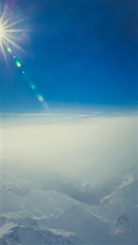 Sky Fly Cloud Blue Sunny iPhone 6(s)~8(s) wallpaper