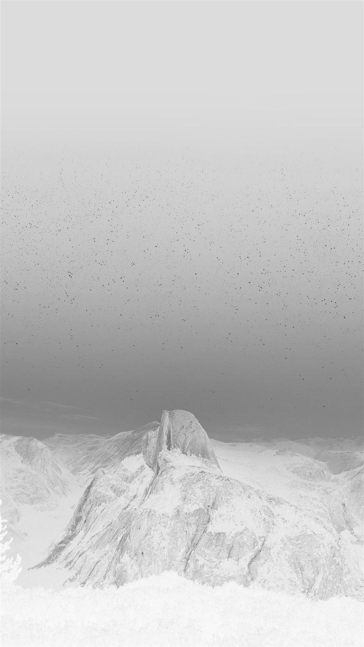 Capitan Mountain Wood Night Sky Star White Iphone 8