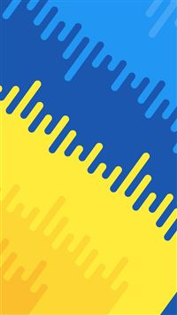 Abstract Blue Yellow Art Pattern iPhone 6(s)~8(s) wallpaper