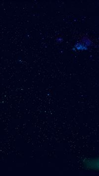 Night Sky Star Space Galaxy iPhone 6(s)~8(s) wallpaper
