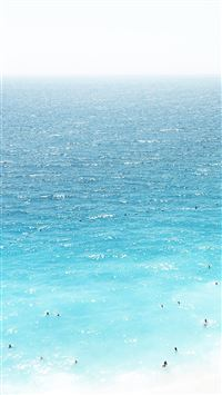 Vacation Beach Sea Blue Summer Water iPhone 6(s)~8(s) wallpaper