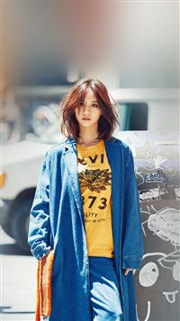 Hyeri Kpop Street Red Celebrity Girl iPhone 6 wallpaper