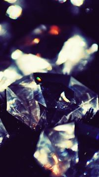 Dark Crystal Diamonds Shiny Macro iPhone 6(s)~8(s) wallpaper