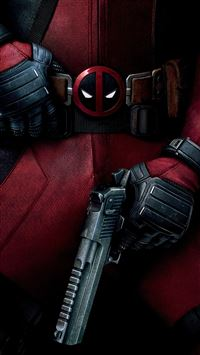 Deadpool Art Illustration Film Hero iPhone 6(s)~8(s) wallpaper