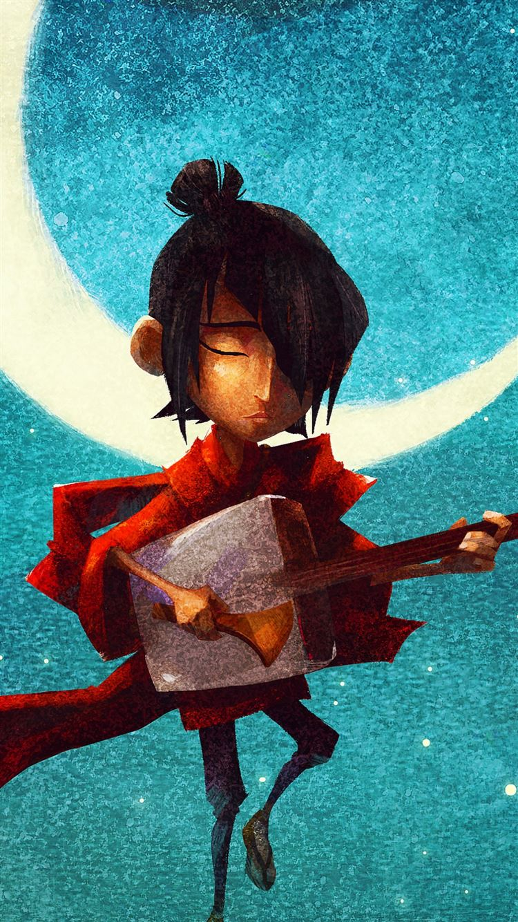 Kubo And The Two Strings Hero Samurai Iphone 8 Wallpapers Free