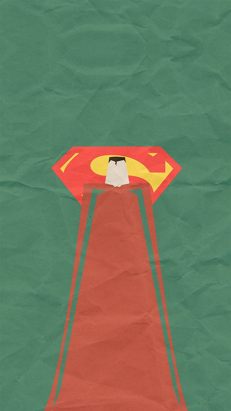 Superman Minimal Art Illustration Iphone 8 Wallpaper Download