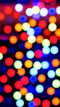 Abstract Colorful Spots Background iPhone 6(s)~8(s) wallpaper