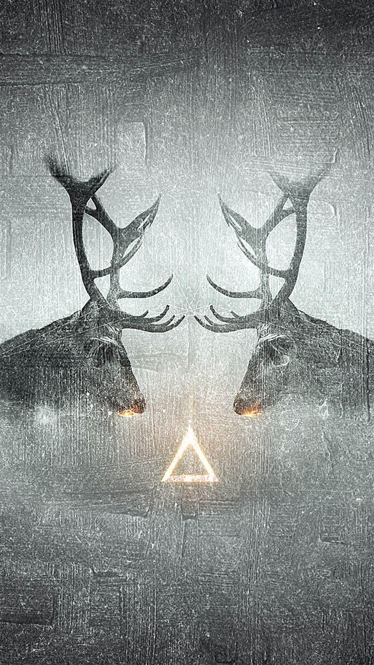 Fantasy Elk CP Animal Shadow iPhone 8