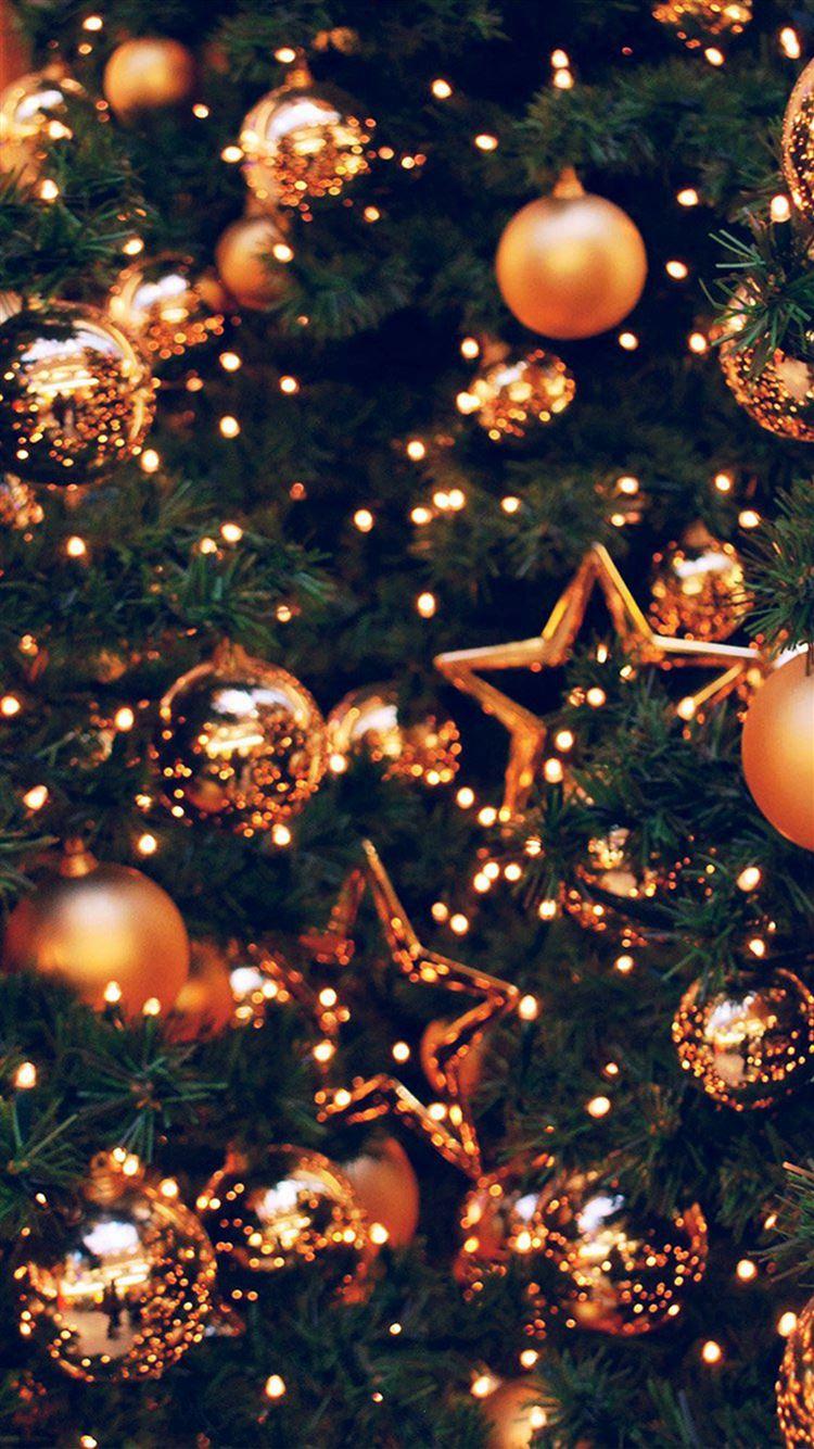 Decoration Holiday Christmas Illustration Art Gold iphone 8 wallpaper ilikewallpaper com