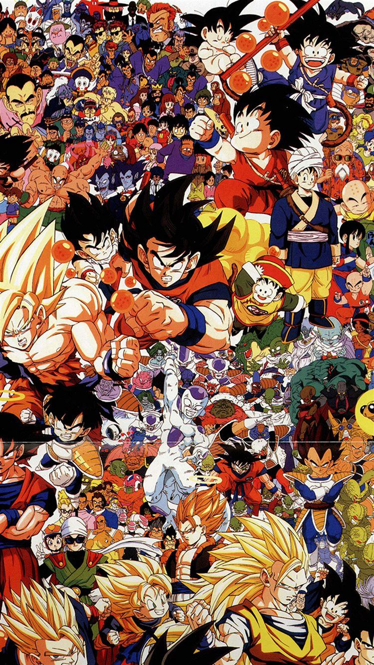 Dragonball Full Art Illust Game Anime Iphone 8 Wallpapers Free
