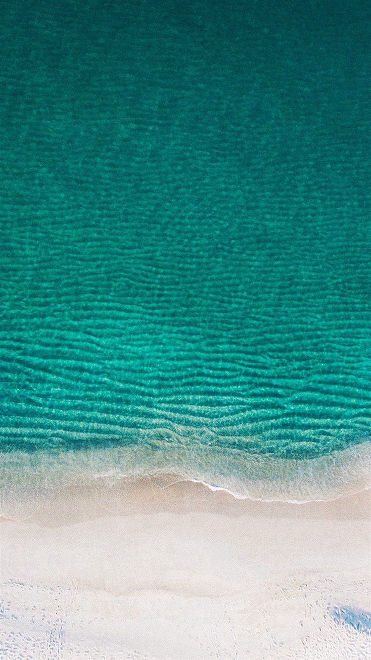 Sea Ocean Green Minimal Nature Wave Earth Iphone 8