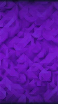 Polygon Art Purple Triangle Pattern iPhone 6 wallpaper