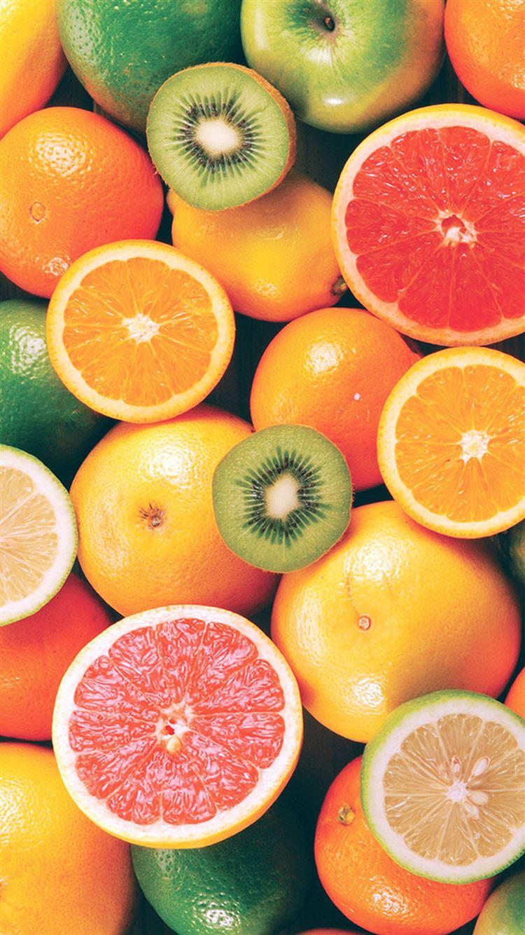 Colorful Fruit Mix iphone 8 wallpaper ilikewallpaper com