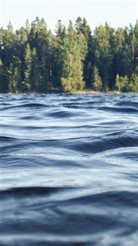 River Water Mountain Blue Summer Nature iPhone 6 wallpaper
