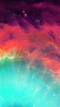 Eye Of God Colorful Nebula Detail iPhone 6(s)~8(s) wallpaper