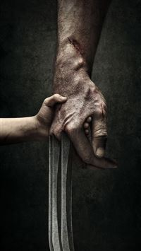 Wolverine 3 Rogan Movie Poster iPhone 6(s)~8(s) wallpaper