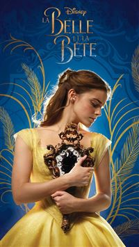 Beauty and the Beast Emma Watson Film Poster iPhone 6 wallpaper