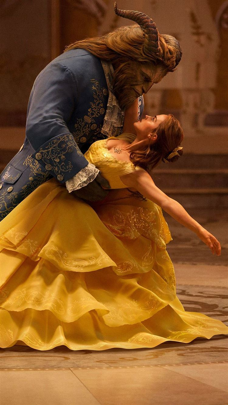 Beauty And The Beast Emma Watson Dancing With Prince Iphone 8