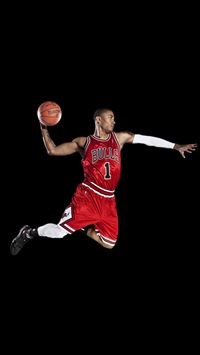 Chicago Bulls Derrick Rose iPhone 6(s)~8(s) wallpaper