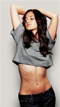 Minka Kelly Hot Actress iPhone 7 wallpaper