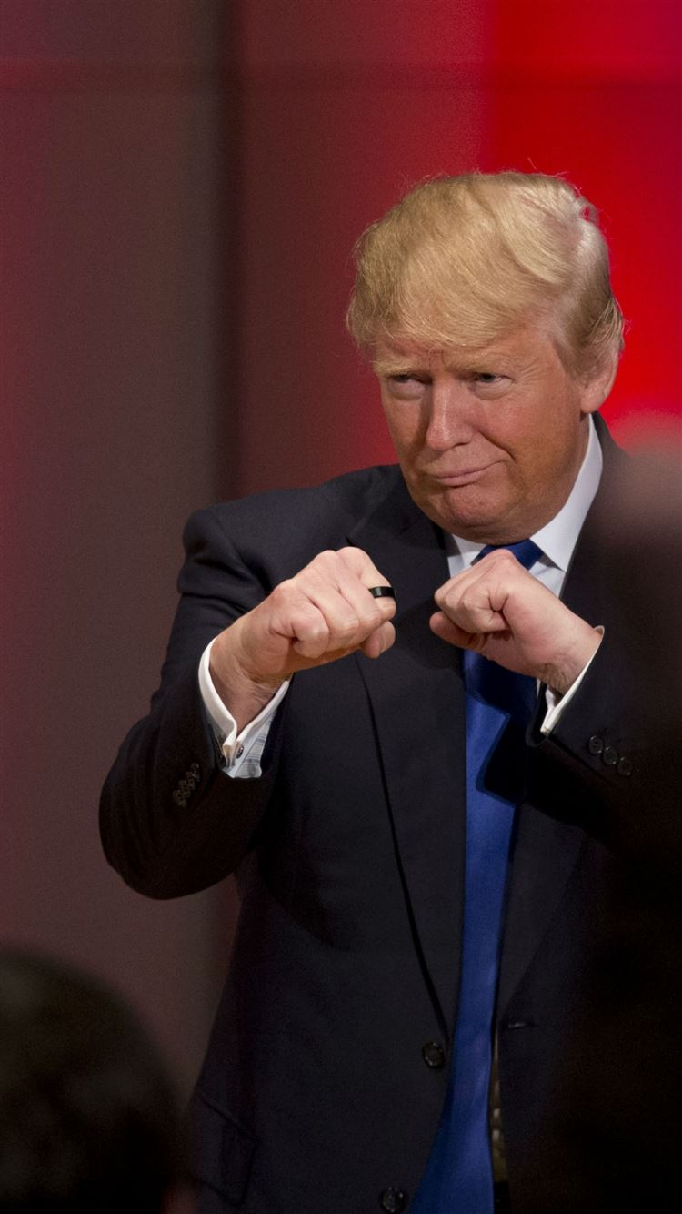 Donald Trump Fists Funny Iphone 8 Wallpapers Free Download