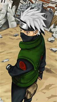 Naruto Shippuuden Naruto Man Mask Sand iPhone 6(s)~8(s) wallpaper