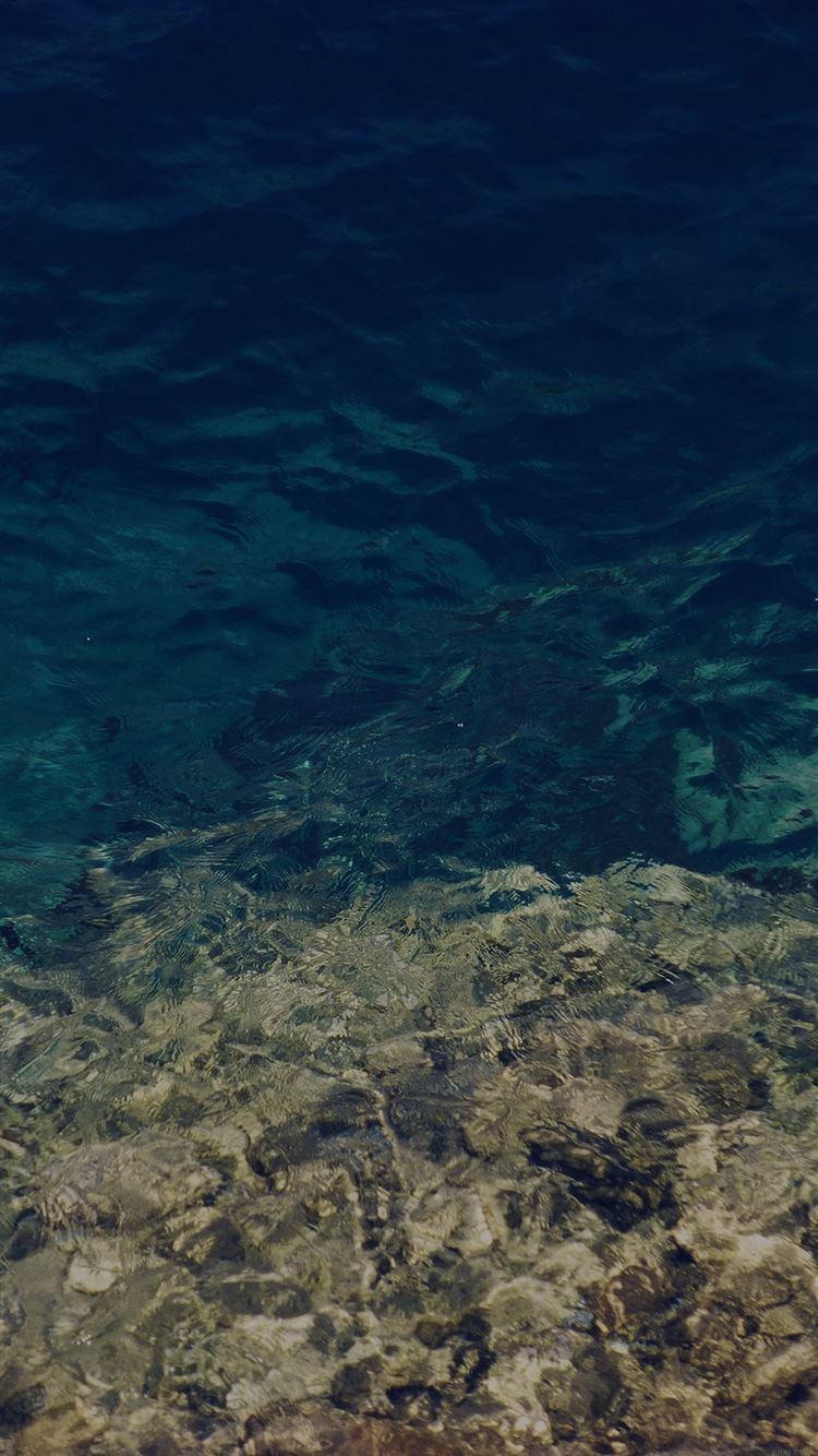 Water Texture Dark Summer Wave Nature Sea Iphone 8