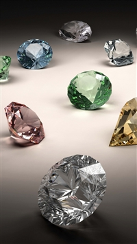 Stones Jewels Diamonds iPhone 6(s)~8(s) wallpaper