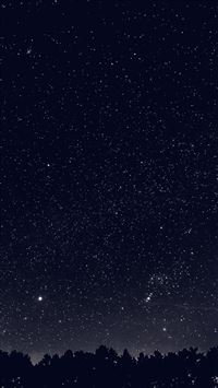 Space Sky Night Dark Nature Bw iPhone 6(s)~8(s) wallpaper
