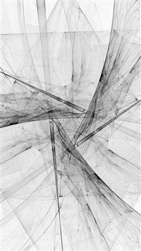 Triangle Art Abstract Bw White Pattern iPhone 6(s)~8(s) wallpaper