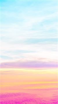 Beautiful Pastel Sky iPhone 6(s)~8(s) wallpaper