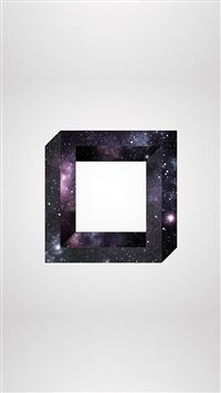 Abstract Square Space Art iPhone 6(s)~8(s) wallpaper