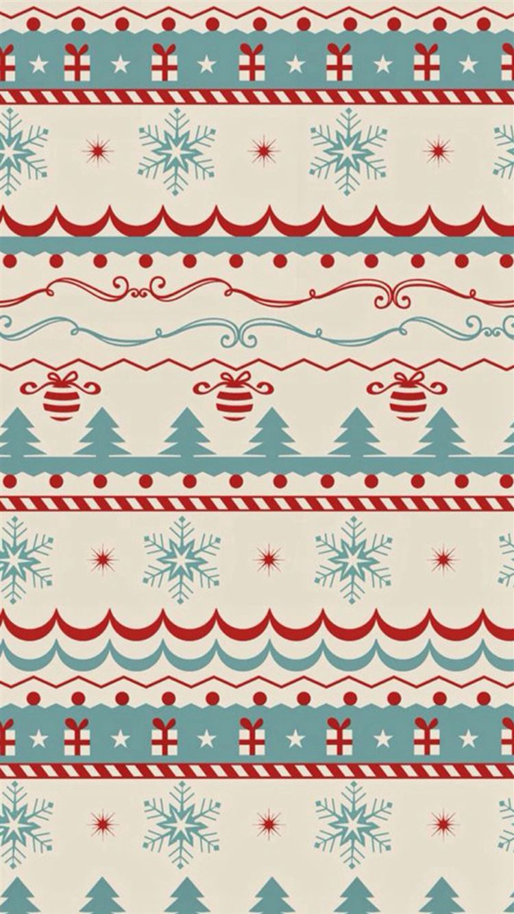 Christmas Sweater Texture iPhone 8 Wallpapers Free Download