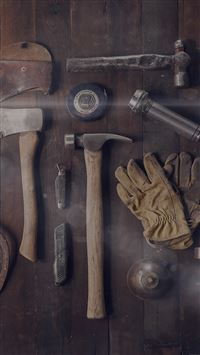 Woodworker Workshop Tools  iPhone 6(s)~8(s) wallpaper
