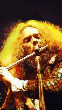 Jethro Tull Live At Madison Square iPhone 6(s)~8(s) wallpaper