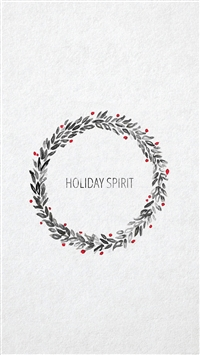 Minimal christmas art iPhone 6(s)~8(s) wallpaper