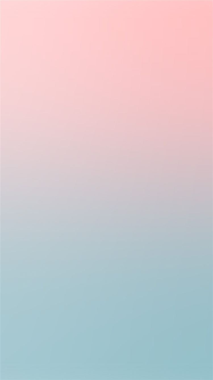 Pink Blue Soft Pastel Blur Gradation Iphone 8 Wallpapers Free Download