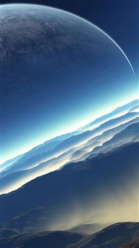 Space new planet mars iPhone 6(s)~8(s) wallpaper