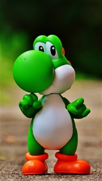 Super mario world dinosaur iPhone 6(s)~8(s) wallpaper