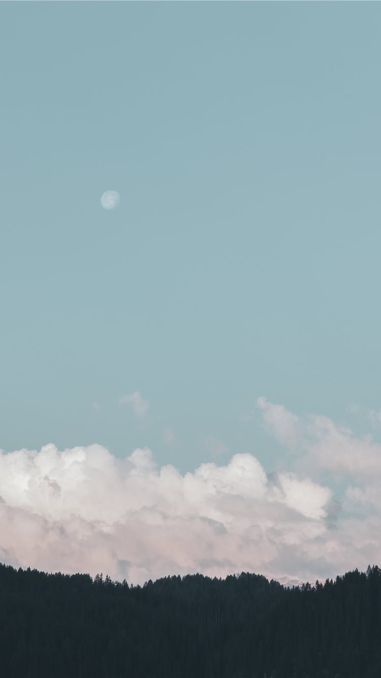 Pastel clouds iPhone 21 Wallpapers Free Download